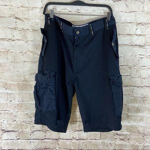 Tommy Jeans navy blue cargo shorts size 34